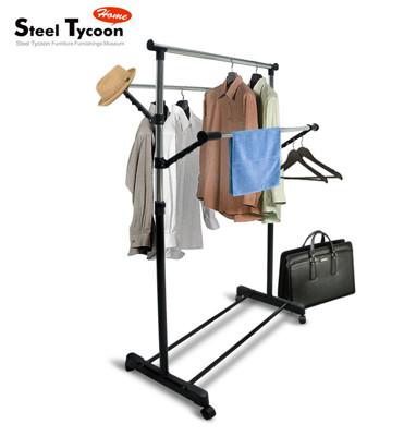 【Steel Tycoon】多功能三桿式吊衣架組 (7折)