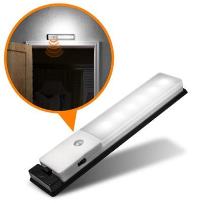 USB充電式 智能LED薄型人體感應照明燈 (6.8折)