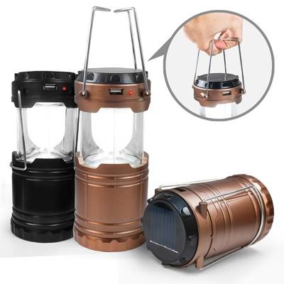 太陽能充電/電池 二用 手提式露營燈 (4.1折)