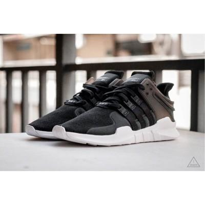 adidas EQT Support ADV 黑白 編織 網布 慢跑 男鞋 CP9557 (8.4折)