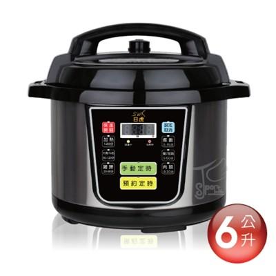 微電腦壓力鍋 6L [不銹鋼內鍋] /萬用鍋/電子鍋S350 6-10人分 (8.9折)