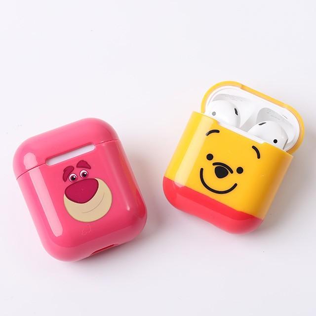 camino airpods硬式保護套norns 迪士尼正版 iphone藍芽耳機充電套 維尼米