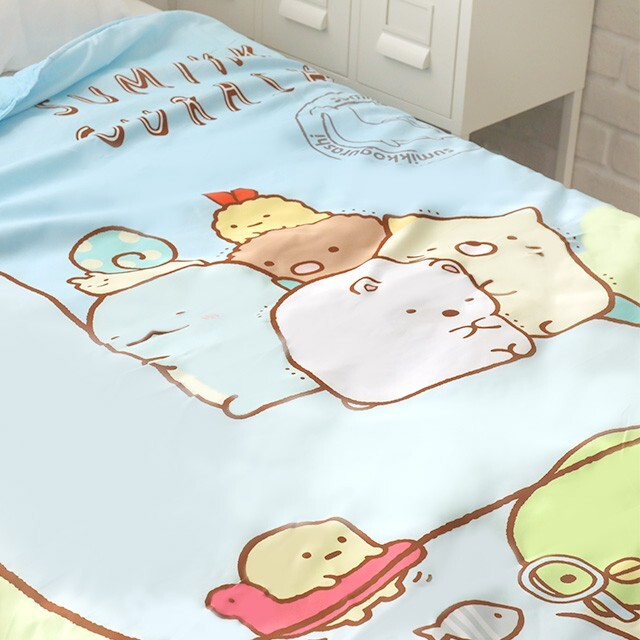 角落生物四季被 雙人56尺 - norns 正版授權 棉被寢具 涼被 恐龍媽媽 - 雙人涼被-恐龍
