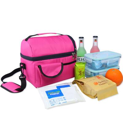 居家寶盒8l 雙層加厚 迷你小冰箱 保溫袋保冷袋 保溫包 保冷包 保鮮 便當袋 母乳袋媽咪包 (7折)