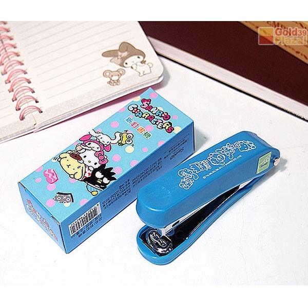 居家寶盒sv8328kt 新釘書機 sanrio大集合 kitty 美樂蒂 大眼蛙 布丁狗 多角