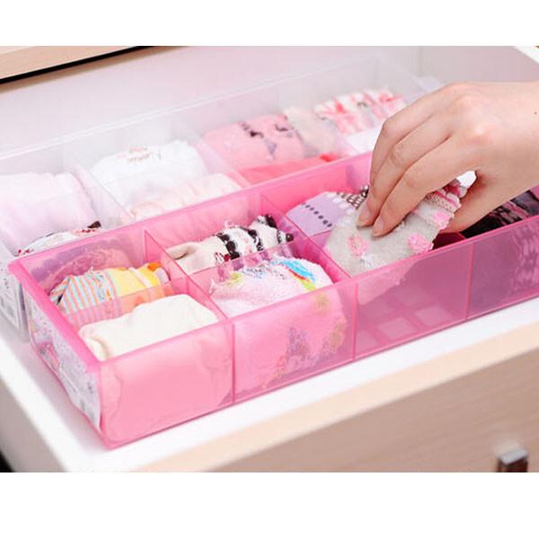 日本製 貼身衣物收納盒8格 收納盒 內褲收納 小物收納 桌上收納盒