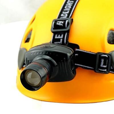 居家寶盒3W LED三段式照明 伸縮變焦 伸縮頭燈 挖耳照明 釣魚燈自行車燈 手電筒 登山露營探險 (5.2折)