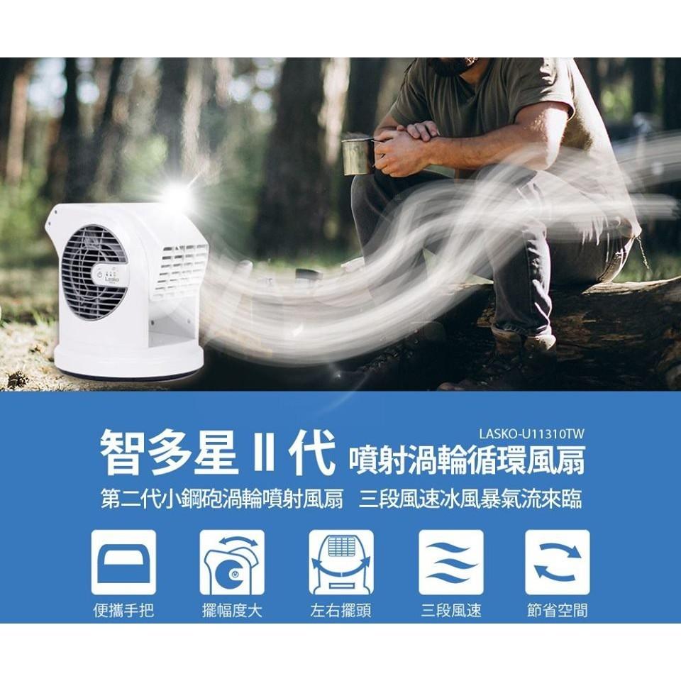 野道家智多星二代-旋轉噴射循環風扇 贈收納袋+清潔刷