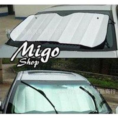 【現貨!汽車加厚鋁箔氣泡遮陽檔】擋風玻璃用 反光板 泡鋁箔 抗UV 抗紫外線 防曬 (4.8折)