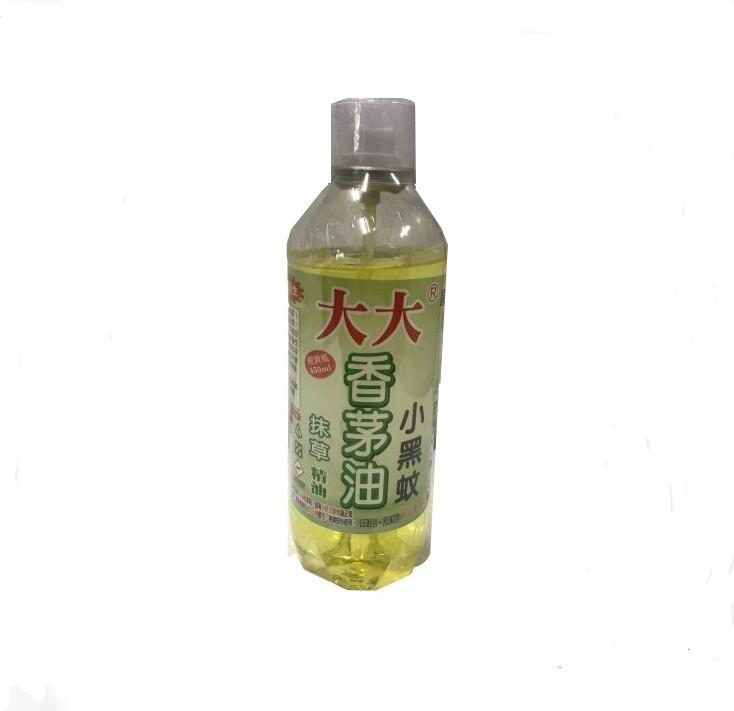 台灣製作 大大抹草香茅油450ml 精油  驅蚊驅蟲 防蚊蟲 小黑蚊