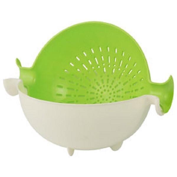 台灣製造 兩用創意蔬果清洗籃