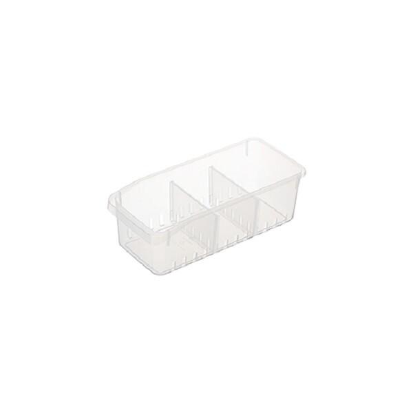 台灣製造 (大)冰箱收納盒(附隔板)
