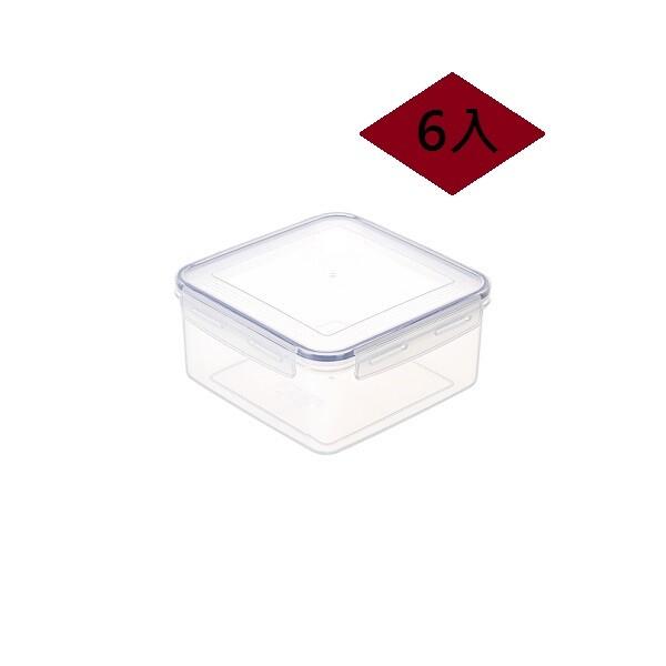 台灣製造 6入 2.7l 天廚方型保鮮盒