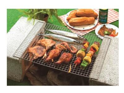 台灣製造 304不鏽鋼 大型烤肉網 (9.6折)