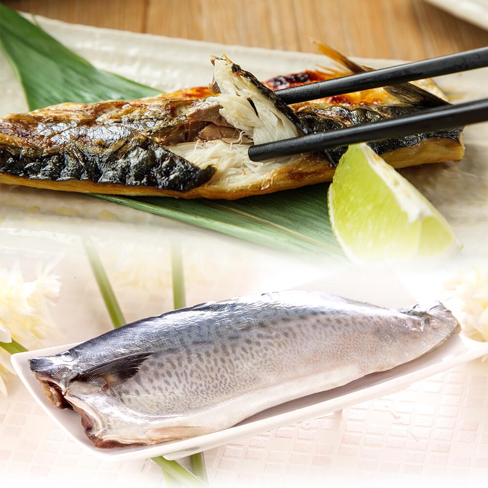 山海珍饈巨無霸3xl等級挪威鯖魚((淨重200g/片)