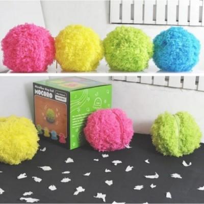 毛絨自動掃地球 第二代掃地機 自動吸塵器毛絨寵物玩具除塵 玩具 貓咪 狗狗 療癒 毛球君 電動寵物球 (4.2折)