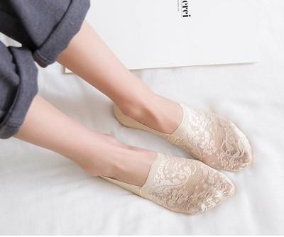 新款隱形襪蕾絲船型襪隱形襪/止滑舒適3色 (1.7折)
