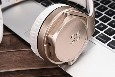 SODO MH3 摺疊式NFC藍牙 頭戴式耳罩耳機 / 喇叭 二合一 多功能藍芽耳機 (6.1折)