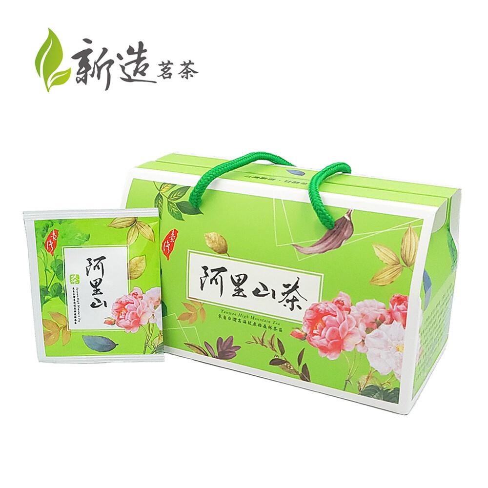 新造茗茶精選阿里山高冷茶三角立體袋茶包 (30入/盒)