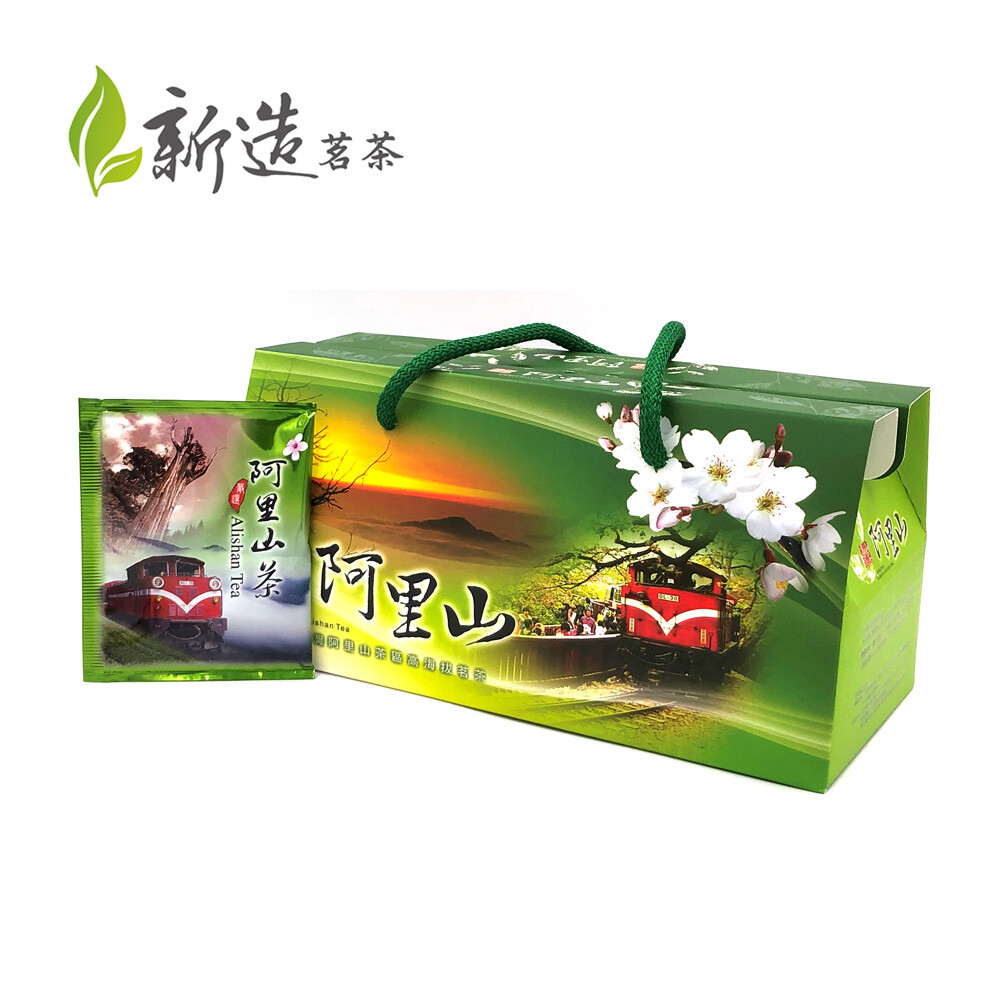 新造茗茶精選阿里山高冷茶極品袋茶包 (30入/盒)