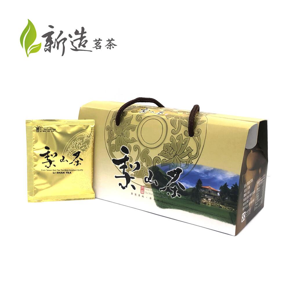 新造茗茶精選梨山極品袋茶伴手禮盒 (30入/盒)