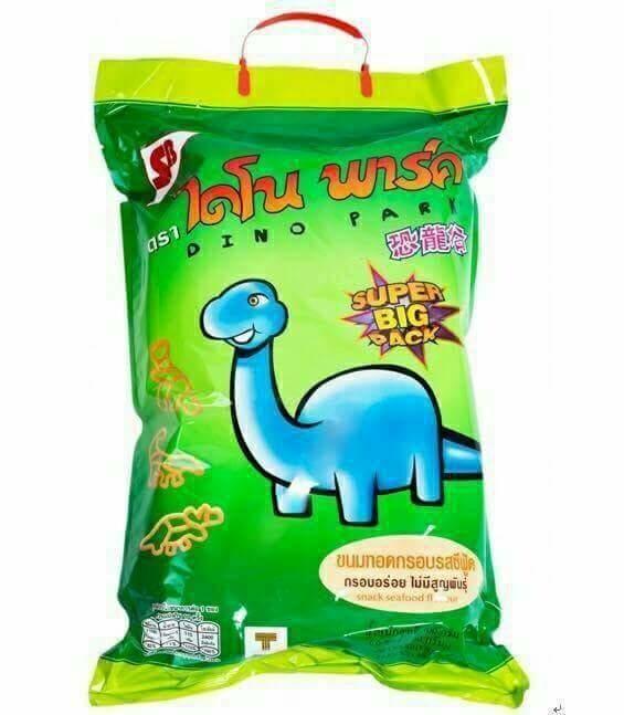 泰國大恐龍餅乾海鮮口味