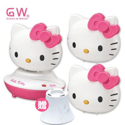 GW水玻璃 Hello Kitty分離式除濕機組5件組(薰香台)【聯名商品】 (5.6折)