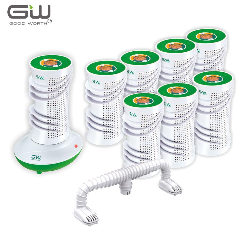 gw水玻璃 分離式直桶除濕機10件組