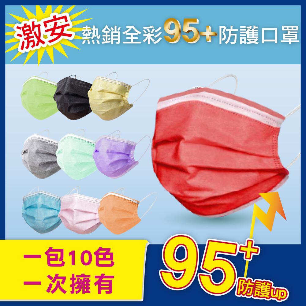 激安熱銷全彩95+防護口罩
