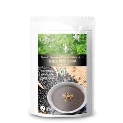 【樸優樂活】養生堅果黑芝麻糊-微糖(添加紅藻鈣)(400g/包)*1 (6.2折)