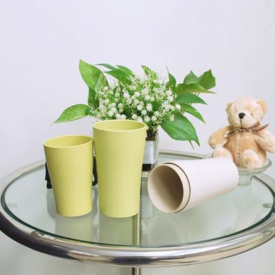 【樸生活】小麥環保簡約浴室漱口杯240ML(買一送一超值組) (3.1折)