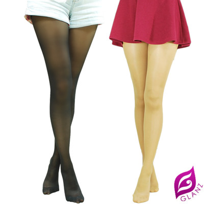 【GLANZ 格藍絲】70D 小惡魔防勾纖腿彈性絲襪(黑/膚) (1折)