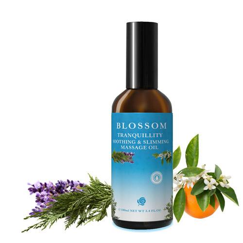 blossom 寧靜舒緩曲線緊緻修護美體按摩油(100ml/瓶)-多件組更優惠
