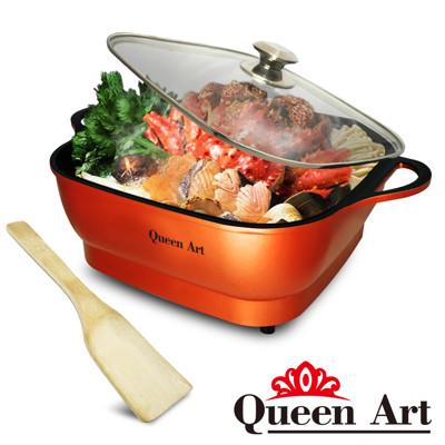 Queen Art 大容量5公升多功能不沾美食料理電火鍋(QA-KX88) (4.6折)