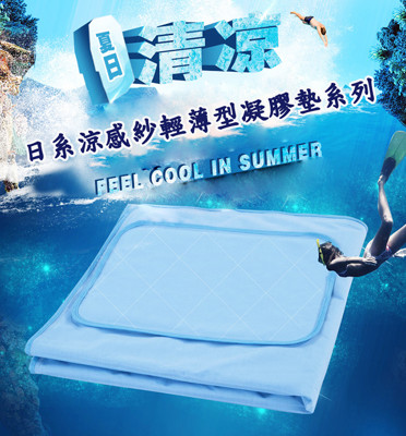 【Betrise】日系涼感紗輕薄型凝膠墊系列-單人床墊~可水洗 (2.2折)