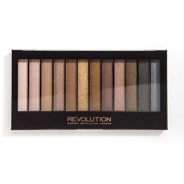 愛來客英國 makeup revolution iconic 1 眼影盤 帶珠光及啞光 - 正常