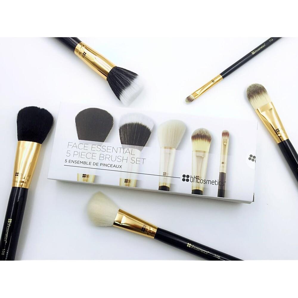愛來客 美國bh cosmetics face essential 5支臉部化妝刷刷具組