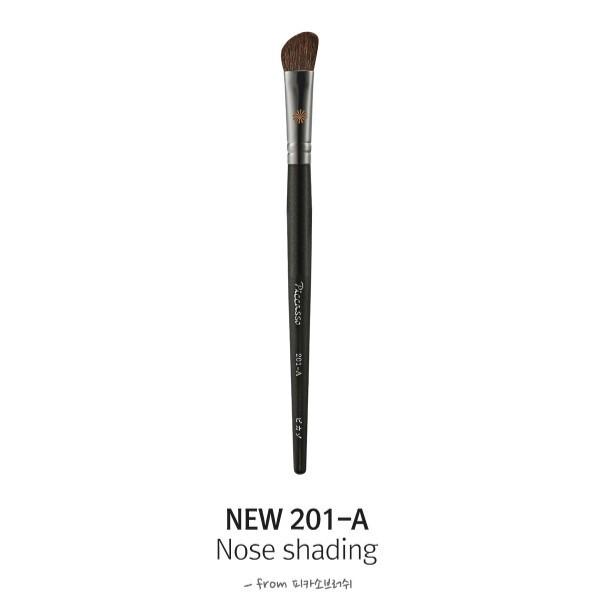 韓國 piccasso 松鼠毛 new 201a 斜角刷 鼻影化妝刷愛來客韓國piccasso授