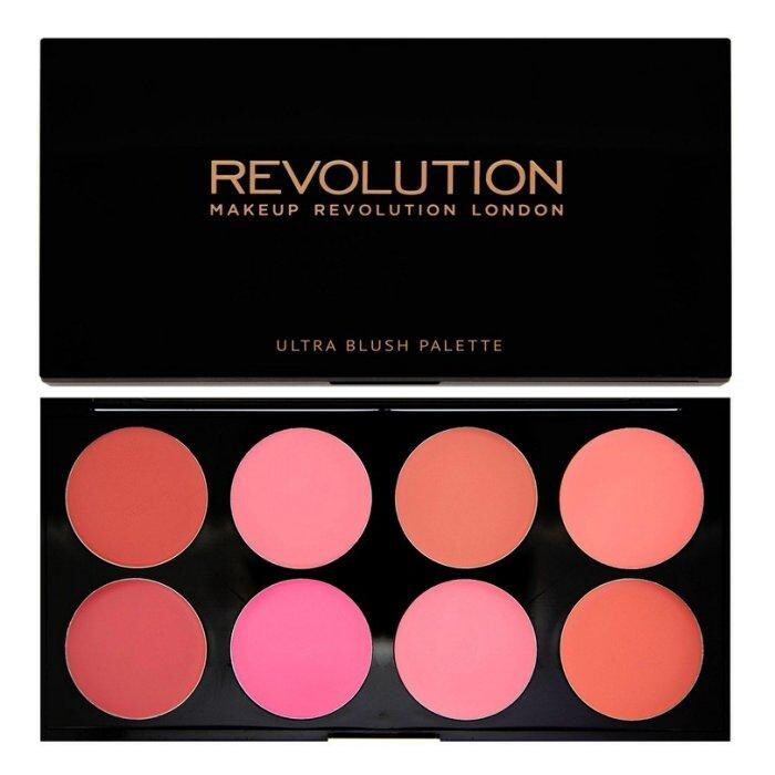 愛來客英國makeup revolution blush palette all about c