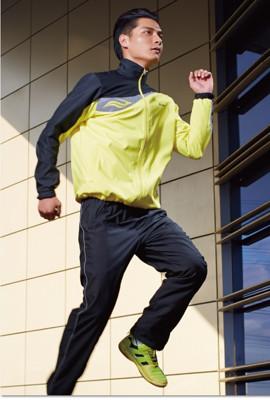 波力男式梭織運動外套 10JM13070 (6折)