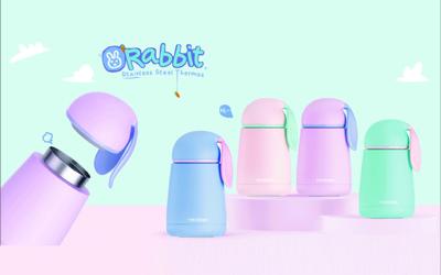 不鏽鋼萌兔隨行保溫杯 (5.3折)