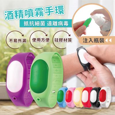 隨身防疫酒精手環 (0.6折)