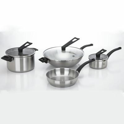 德國經典CS不鏽鋼鍋具組7件組 (5.8折)
