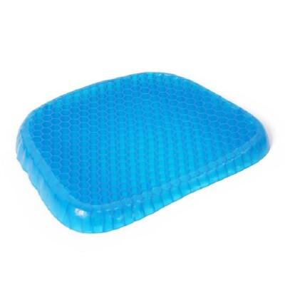 【SG237】蜂巢凝膠健康坐墊 新型蛋托凝膠柔性座墊透氣蜂巢壓力點 減壓透氣水感凝膠坐墊