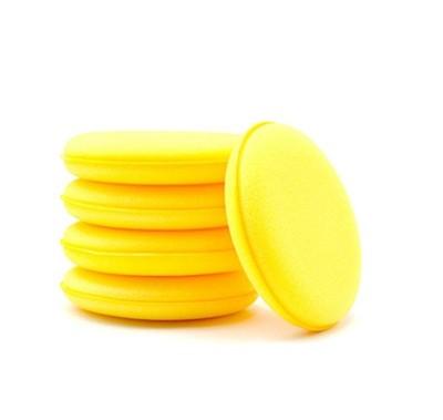 打臘海棉 銅鑼燒 上蠟綿 洗車海綿 壓邊海綿 洗車工具 汽車美容 鍍膜 (7.7折)