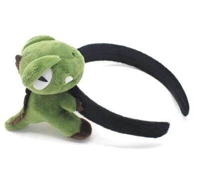 立體恐龍髮飾【NT032】3款髮圈 髮箍 髮夾 頭飾胸針鑰匙圈恐龍鑰匙扣吊飾絨毛恐龍 (3.3折)