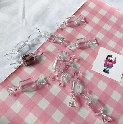糖果耳環收納盒 耳環飾品收納盒 耳環戒指小收納盒 糖果盒飾品盒 造型 交換禮物 情人節 (1.2折)