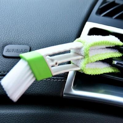 雙頭清潔刷SG704 多功能 車用 空調 冷氣出風口 百葉窗 儀表板 除塵刷 空調刷 鍵盤刷 (1.3折)