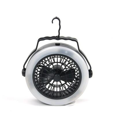 三合一帳篷風扇燈【NT043】可充電露營風扇燈露營燈吊扇燈帳篷燈手提燈多功能 (6.1折)