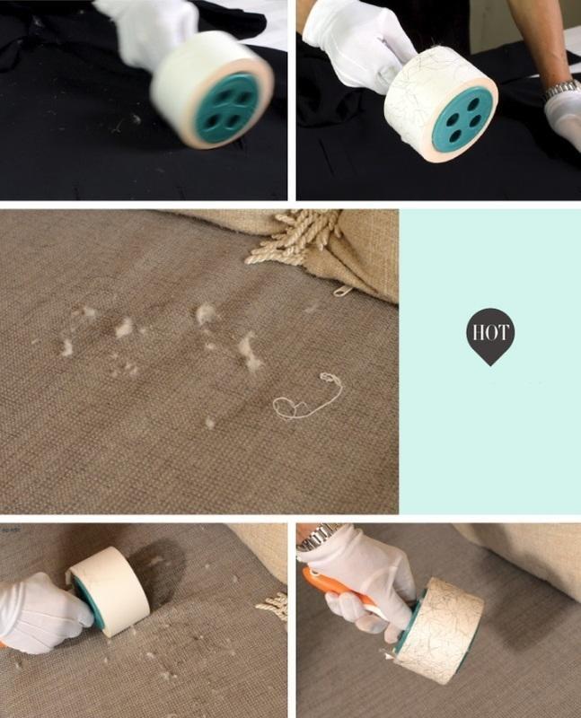 新一代膠帶式清潔滾輪 粘毛器反面膠帶黏毛器快速粘毛器服裝粘毛膠帶 滾毛球 黏毛粘 黏毛